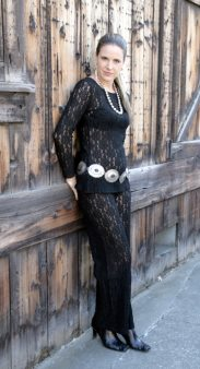 Lace Collection Pant Suit